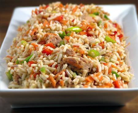 Рецепты салатов из риса