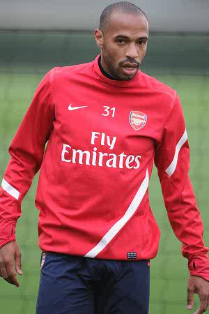 No arsenal return for HENRY
